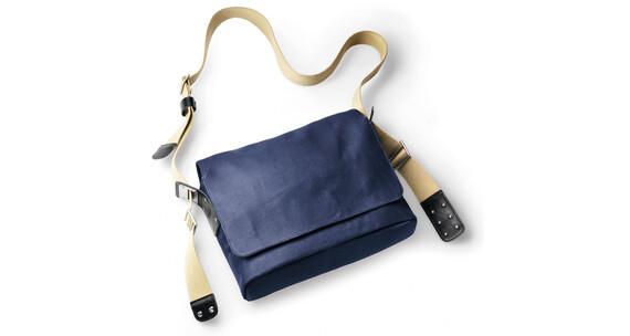 Brooks Paddington Shoulder Bag Canvas dark blue / black